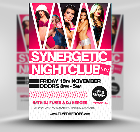 Synergetic Flyer Template