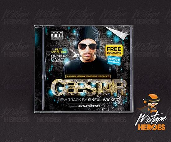 Geestar Mixtape Cover Template