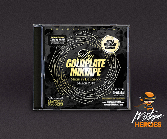 Goldplate Mixtape Cover Template