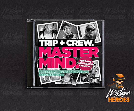 Mastermind Free Mixtape Cover Template