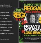 Reggae Flyer Template 3