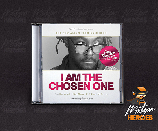 Chosen One Mixtape Cover Template