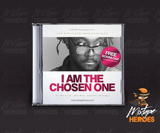 Chosen One Mixtape Cover Template