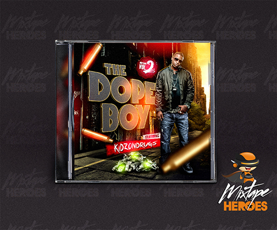 Dopeboy Mixtape Cover Template