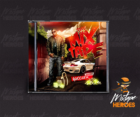 Guccilex Mixtape Cover Template