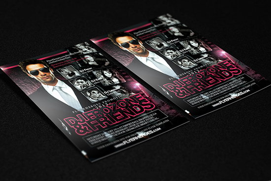 Free DJ Flyer Templates