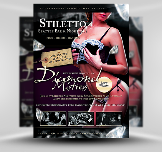 Stiletto 2 Flyer Template