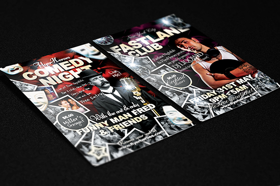 Free Comedy Flyer Templates