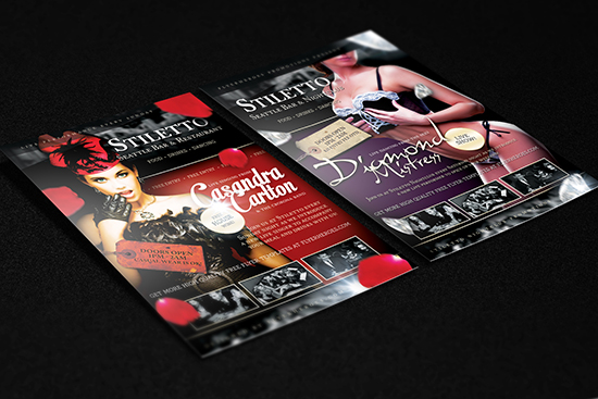 Stiletto Free Flyer Template