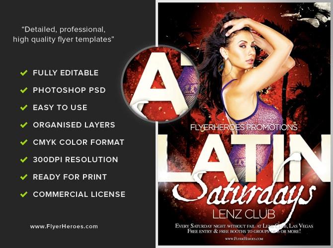 Free Latin Night Flyer...