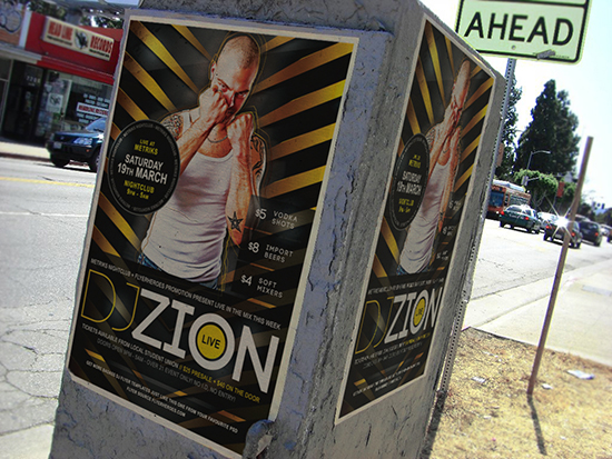 Free DJ Poster Template
