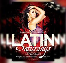 Free Latin Night Flyer