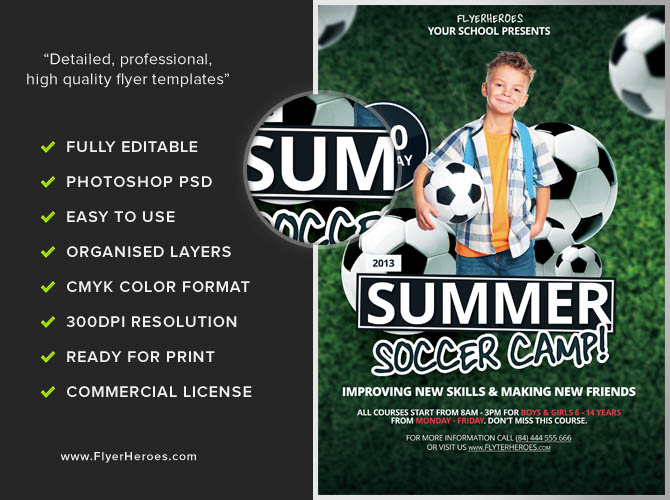 Summer Camp Flyer Templates to Download