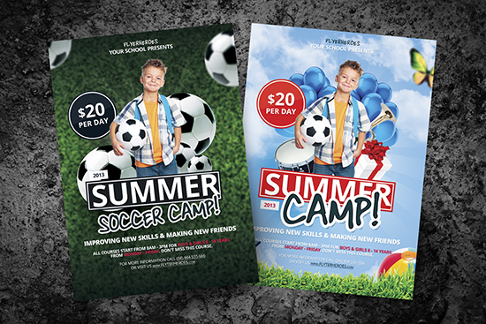 Free Soccer Camp Flyer Templates