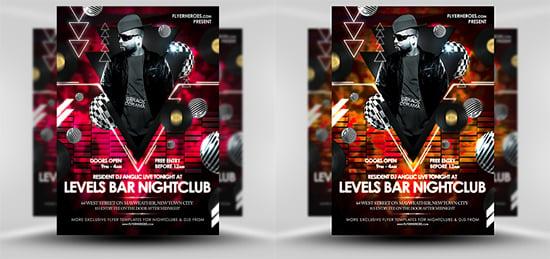 Lebels Free Nightclub Flyer Templates