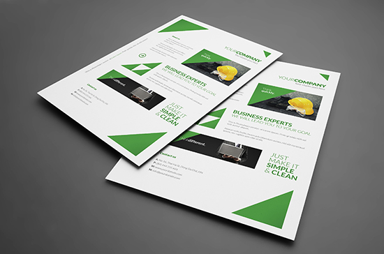 Free Corporate Flyer / Poster Templates