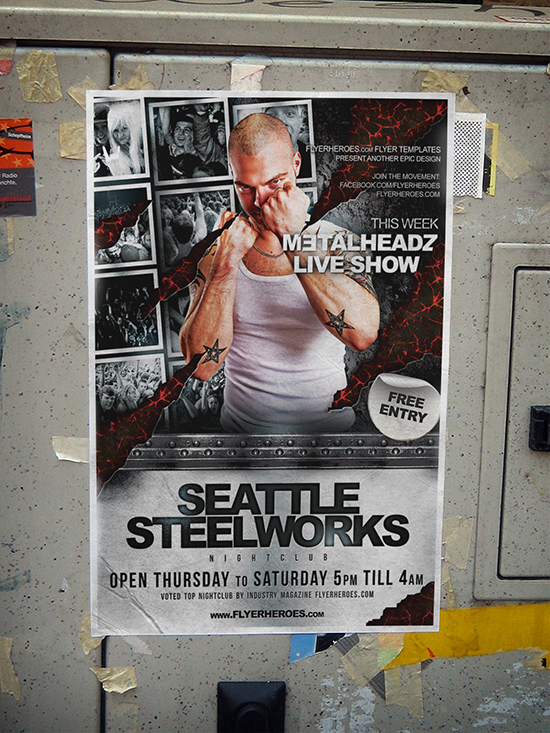 Steelworks Flyer Template