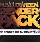 Free Halloween Render Pack