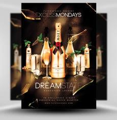 Excess Mondays Flyer Template