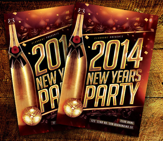 New Years Eve Party Flyer Template Free image tips – Free New Years Eve Flyer Template