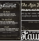 Chalk Menu Flyer Template 2