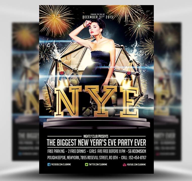 NYE Flyer by Saltshaker911 1