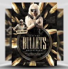 bullets-flyer-template-FlyerHeroes 1