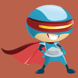 FlyerHeroes Mascot