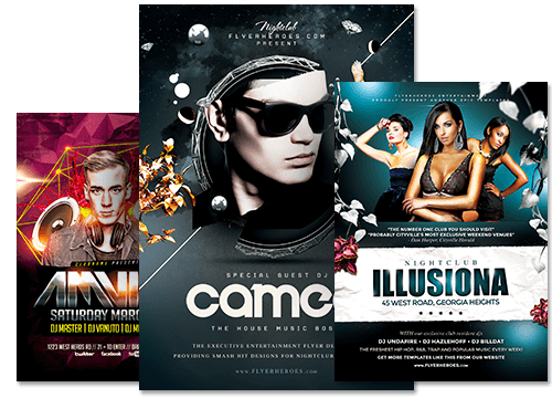 Premium PSD Flyer Templates for Photoshop – Bar Flyer Template