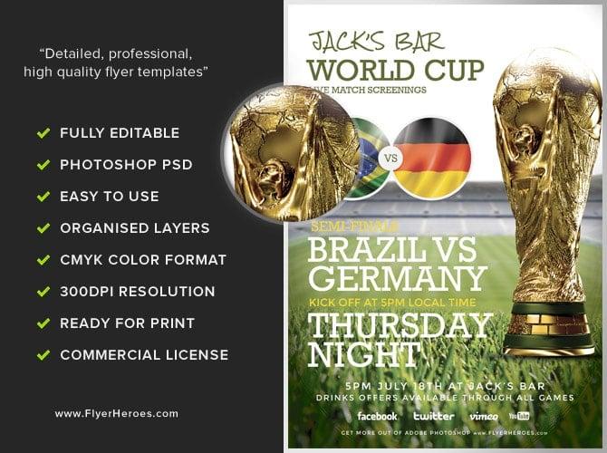 Soccer Flyer Template 2 - Flyerheroes