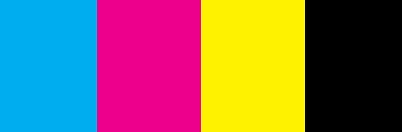 CMYK Colour Format Example
