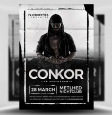 Conkor Flyer Template by FlyerHeroes 1