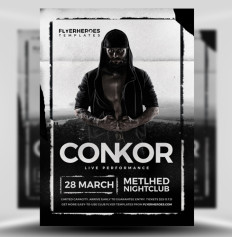 Blackout Nightclub Flyer Template - Flyerheroes