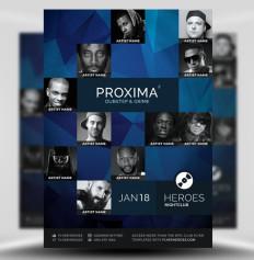 Proxima Flyer by FlyerHeroes 1