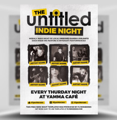 The Untitled Flyer Template by Flyerheroes 1