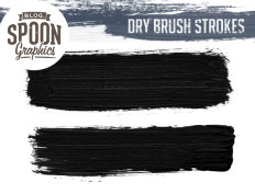 Dry Brush Strokes for Adobe Photoshop