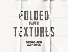 Free Folded Paper Textures by DesignerCandies