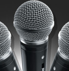 3D Modern Microphone Render for PRO Members