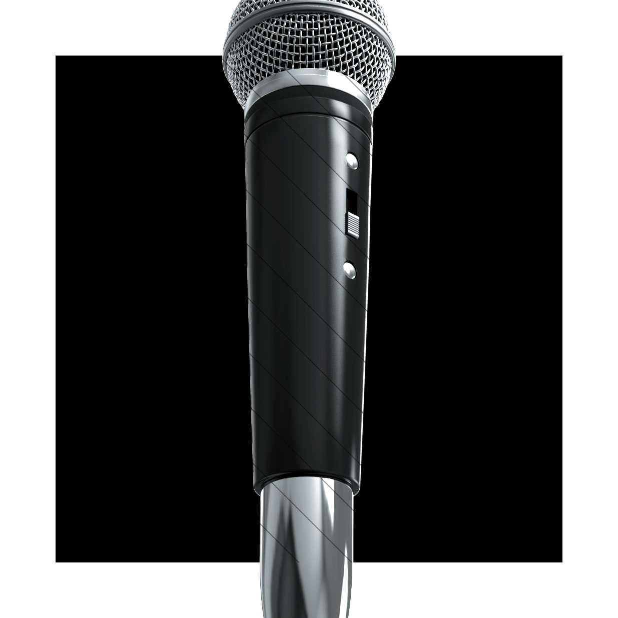 3D Studio Mic Render for PRO Members