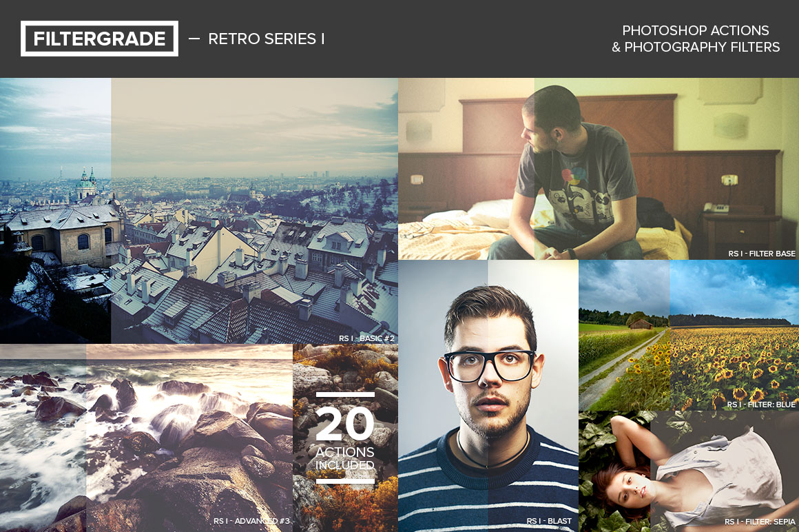 FilterGrade's Retro Series I Free for PRO Members