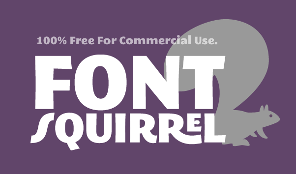 graphic design resources - font squirrel