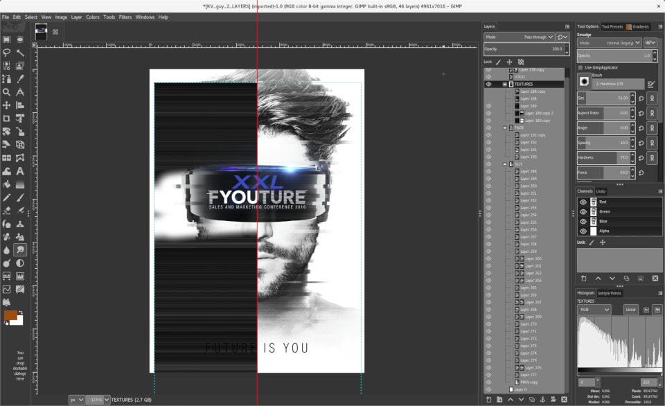 5 Photoshop Design Alternatives | GIMP | FlyerHeroes.com