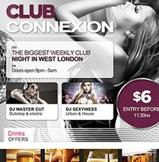 Club Connexion Flyer Template