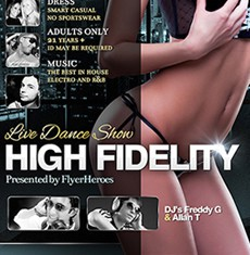 High Fidelity Flyer Template