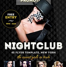 Luxury Club Flyer Template