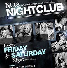 No.8 Nightclub Flyer Template