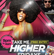Take Me Higher Flyer Template