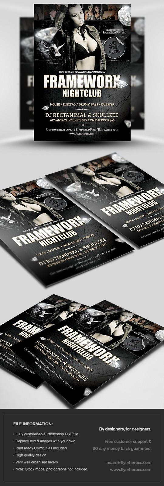 Frameworx 3 Flyer Template