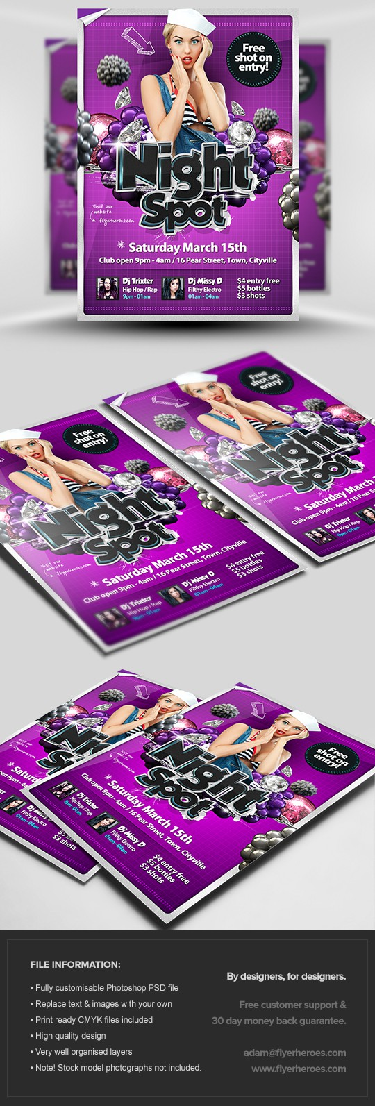Exciting Party Flyer Template