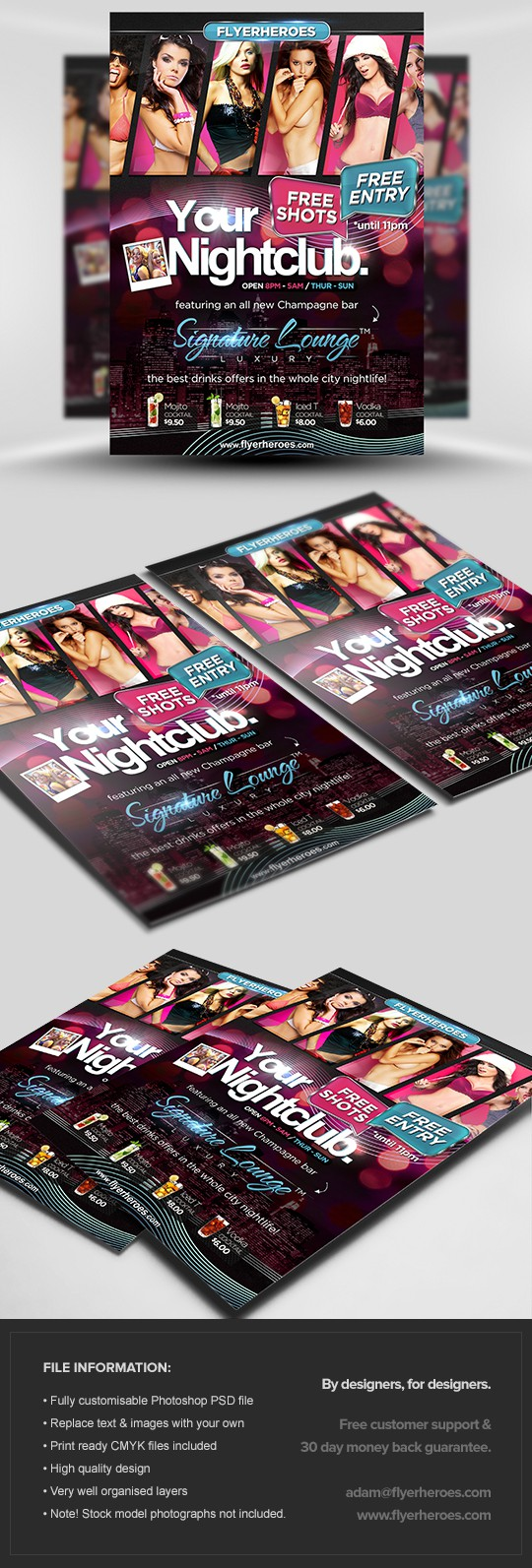 Signature Flyer Template